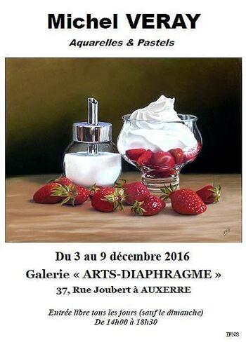 """Exposition Galerie """"Arts Diaphragme"""" à Auxerre"""