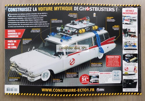 N° 1 Construisez l' Ecto-1 de Ghostbusters - Test