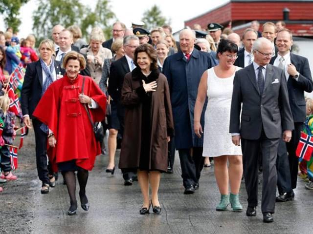 Les Bernadotte en Norvège