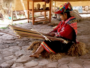 weaving in peru - altheo cox