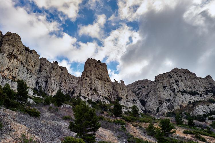 21-2-2019  Aiguille Guillemin-Escaliers du Cap Gros-Grande Candelle