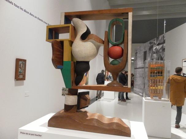 LE CORBUSIER( au musée SOULAGEs à Rodez)