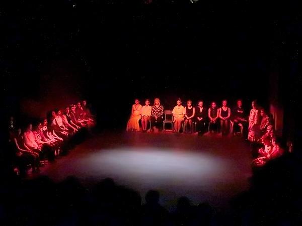"""""""Replante un palmier !""""  un savoureux et désopilant spectacle présenté par l 'atelier-théâtre des élèves du Collège Fontaine des Ducs et du Lycée Désiré Nisard à Châtillon sur S"""