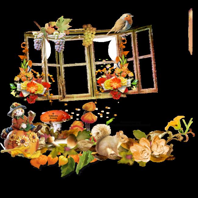 Cluster vide D'automne