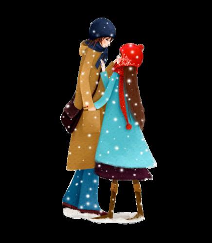 Petits Personnages de Noël Série 3