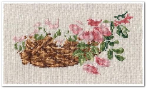 Wild Roses Basket 2