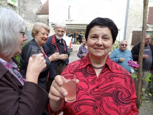 """Monique Hérard expose à """"L'Annexe """" de Recey sur Ource..."""
