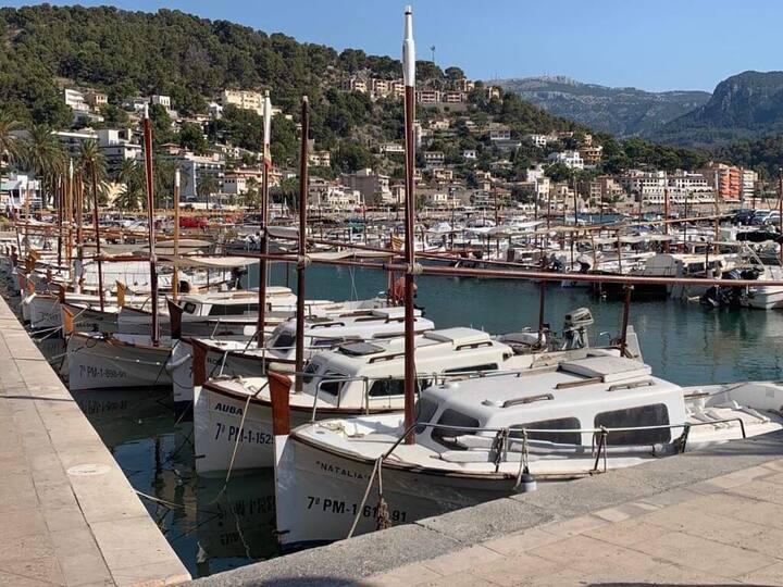 Des nouvelles de puerto Soller à majorque ....