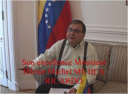 VENEZUELA : Entretien exceptionnel avec Monsieur l'Ambassadeur - Samedi 26 janvier 2019 - Paris (100 mn)