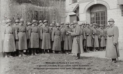20B-Avril1917- Bombardements Reims-Révolution-Approche Jour J-