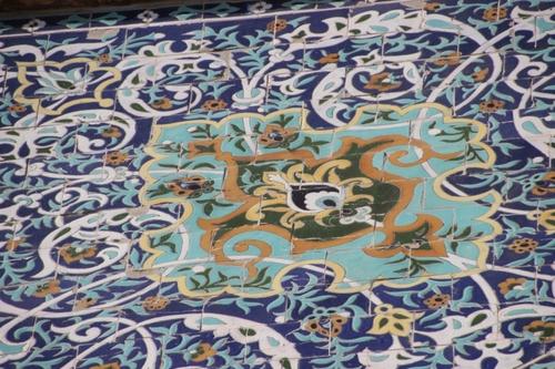 Les monuments dans la vieille ville de Tashkent