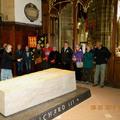 Visite à Leceister, le tombeau de Richard III