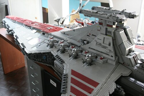 Destroyer Star Wars en Lego.