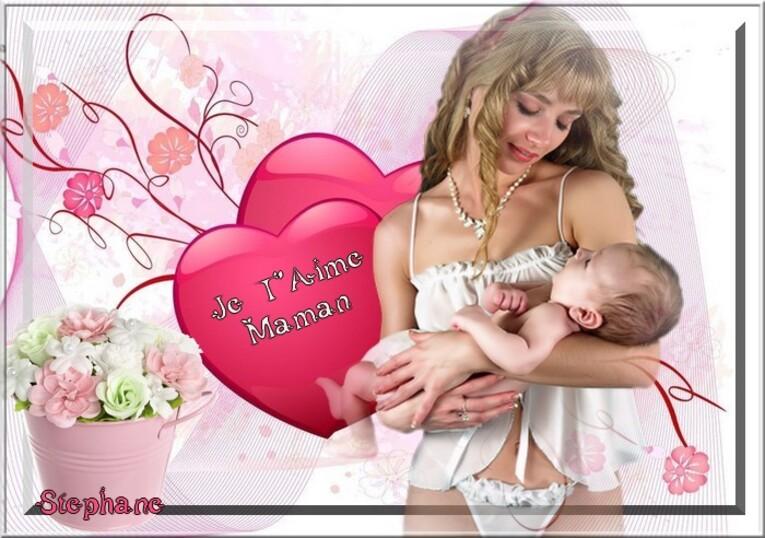 Défi fête des mères chez Manik ( Maman )