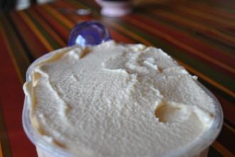 Yaourts glacés au caramel