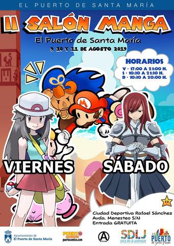 Salón Manga Puerto Santa María 2019