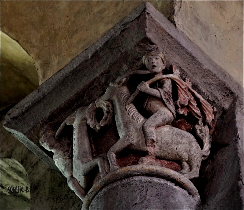 Sculpture romane en Basse Auvergne - 5