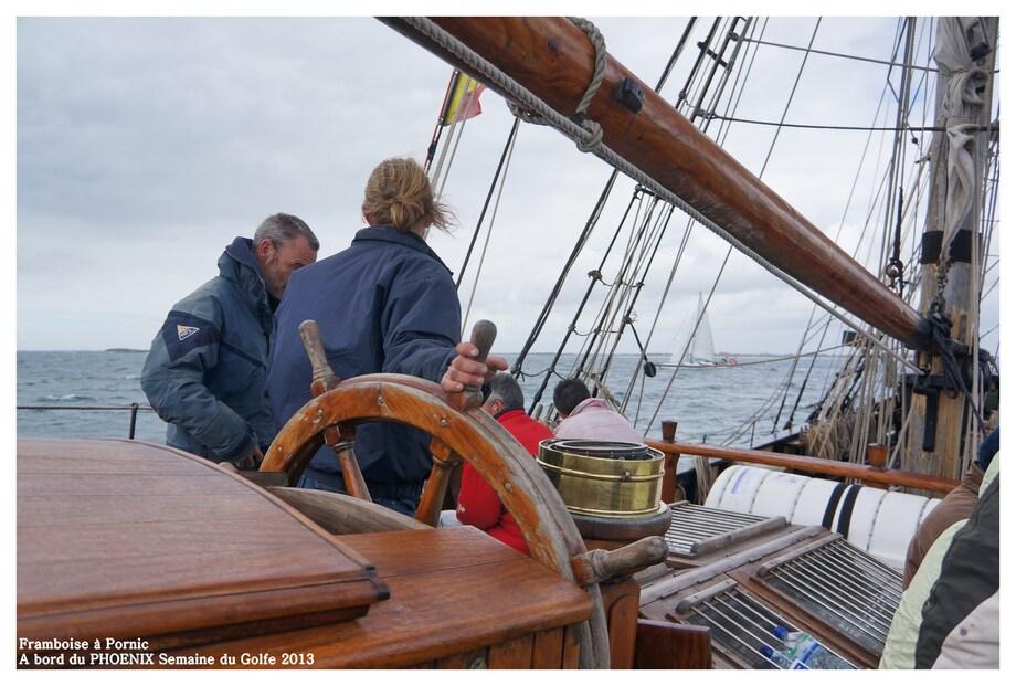 Semaine du Golfe à Bord du Voilier PHOENIX - 2013