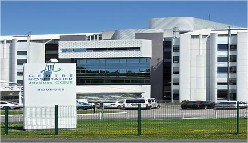 A l'hôpital de Bourges