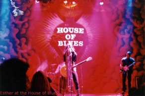 Esther at house of blues