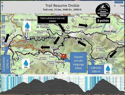 Dimanche 6 juin Trail Beaume-Drobie