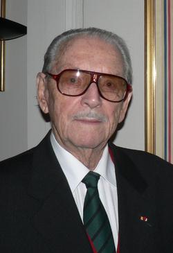 * Visite à Toulouse de Fred Moore dernier Chancelier de l'Ordre de la Libération
