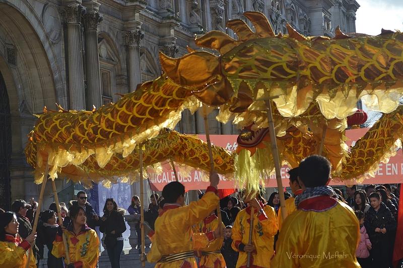 Paris aux couleurs du Nouvel An chinois