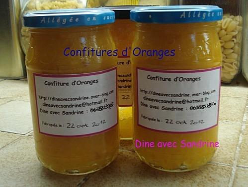 Confitures d'Oranges 5