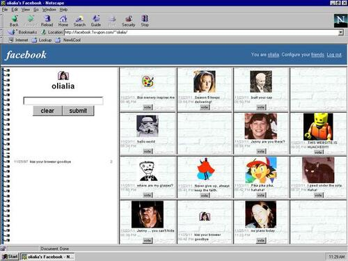 Comment serait Google+ Youtube ou Facebook en 1997?