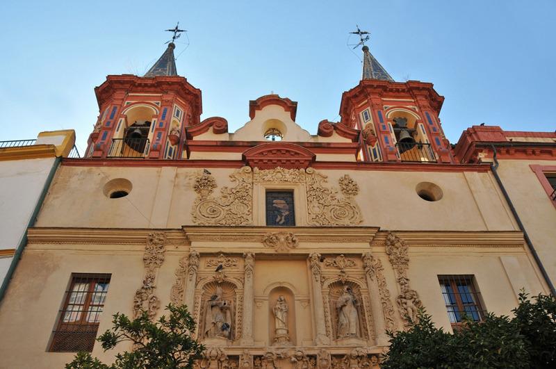 Séville, église du Salvador