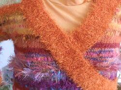 Pull multicolore marques mélangées