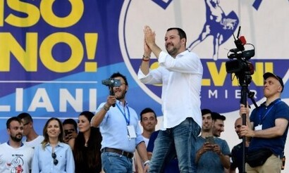 Exclusif : traduction du formidable discours de Matteo Salvini à Pontida