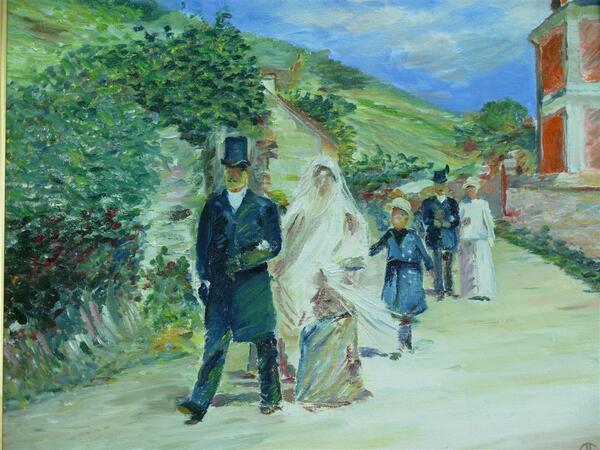 Mardi - Le mariage dans l'art (2)