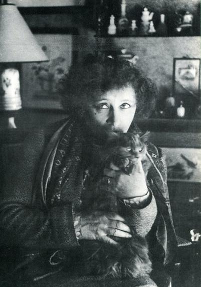 Colette et ses chats