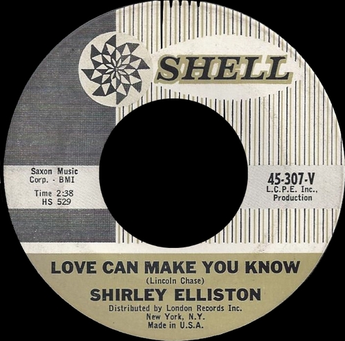 "Shirley Ellis : Album "" In Action "" Congress Records CGL-3002 [ US ]"