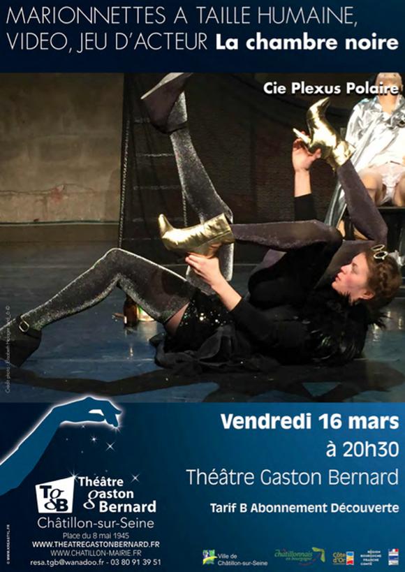 """""""Chambre noire"""" par la Compagnie Plexus Polaire bientôt au Théâtre Gaston Bernard ...."""