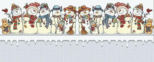 Papiers pour incrédimail d'hiver