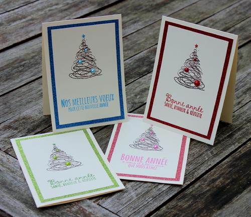 Cartes : Mes cartes de voeux pour 2014