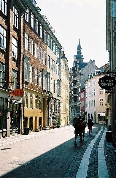 391px-A Copenhagen center street