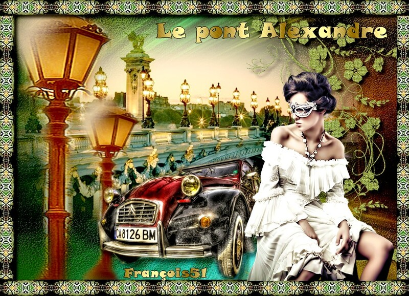Le pont Alexandre défi pour Beauty !
