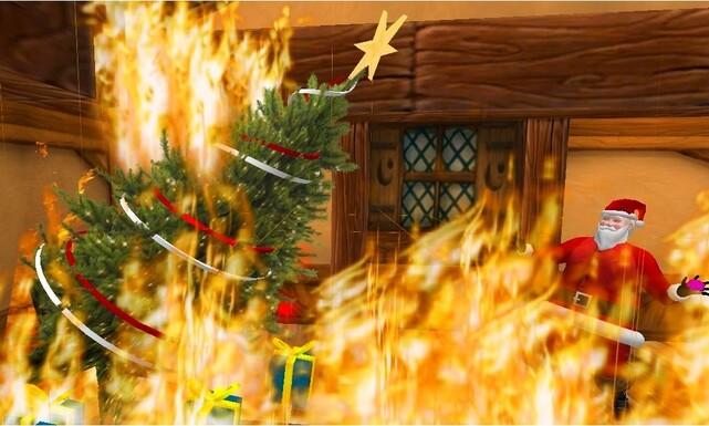 Pauvre Papa Noel !