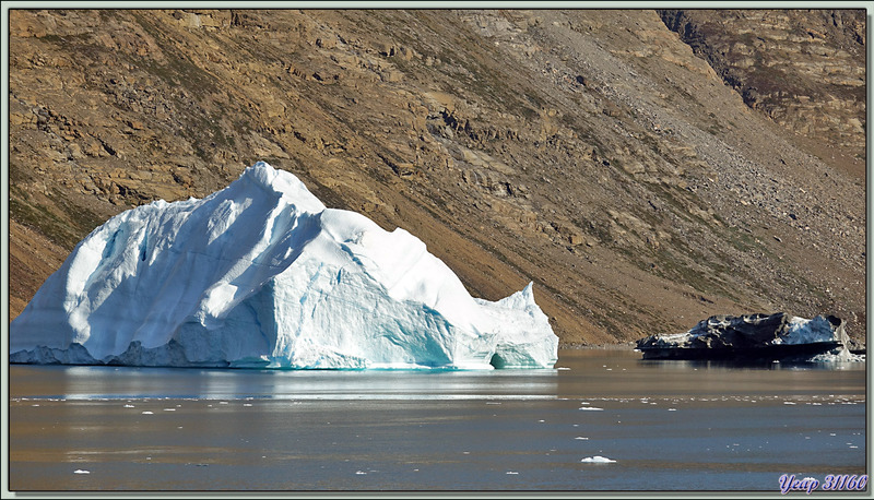 Navigation entre Karrat Island et Illulissat - Upernivik Island - Groenland