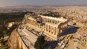 Quelle émotion j'ai eue en visitant cet Acropole ...