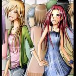 Sakure et Yuna par Kim