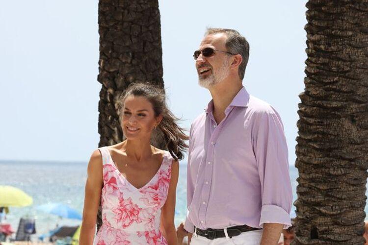 Felipe et Letizia à Benidorm