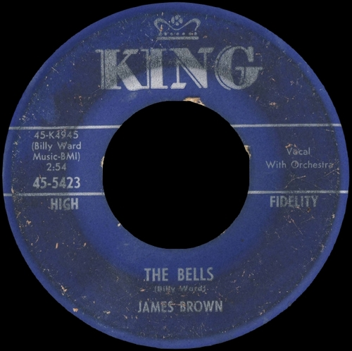 1960 James Brown King Records 45-5423 [ US ]