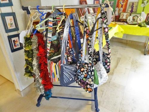 L'exposition d'août 2011 à l'Office du Tourisme d'Aignay le Duc...