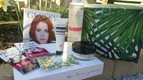 *Glossybox d'avril 2017:we love green