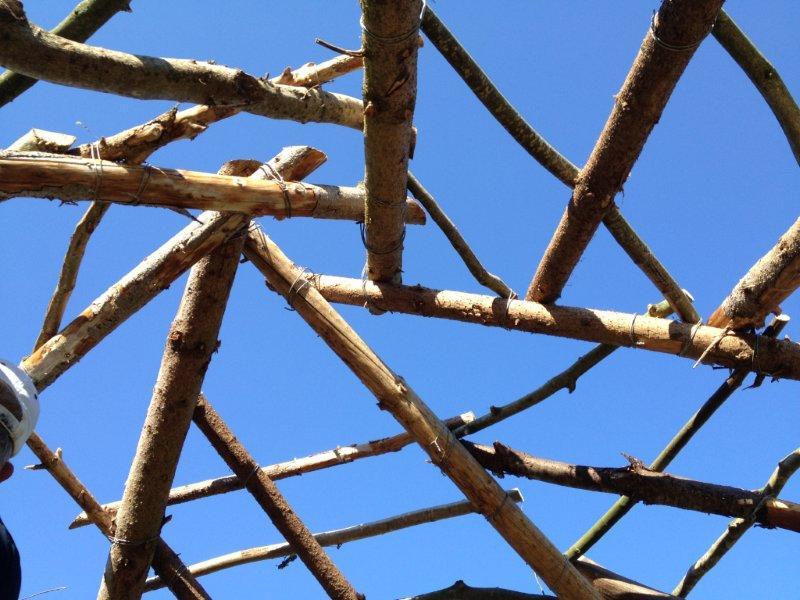 Le toit récursif de la cabane de jeu