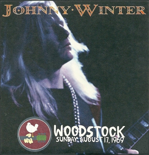 "Johnny Winter : CD "" Live At The Woodstock Festival , August  18 , 1969 "" Columbia Legacy Records 88697 48244 2 [ US ]"
